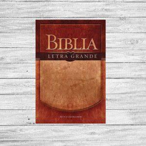 Biblia Antigua Versión Letra Grande Rustica