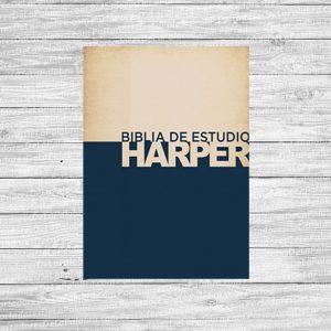 Biblia de Estudio Harper Versión 1960