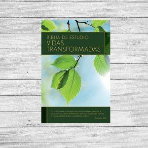 Biblia de Estudio Vidas  Transformadas Tapa Dura Versión 1960